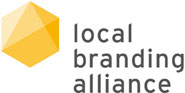 Logo local branding alliance